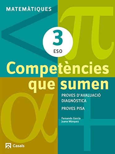 9788421853030: Competències que sumen. Matemàtiques 3 ESO (Quaderns ESO) - 9788421853030