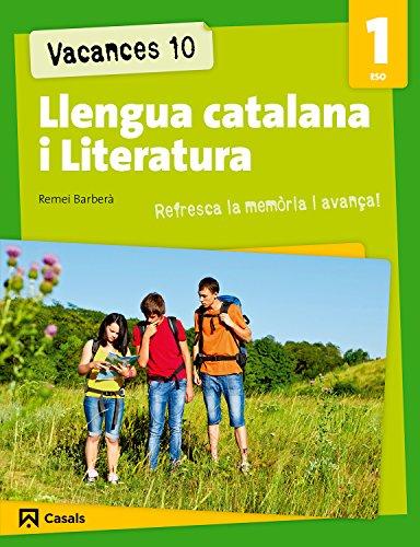 9788421853214: Vacances 10. Llengua catalana i Literatura 1 ESO (Quaderns ESO) - 9788421853214
