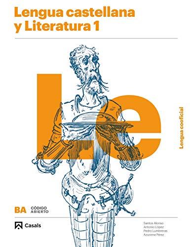 9788421866986: Lengua castellana y Literatura 1 BA Lengua cooficial (Código abierto)