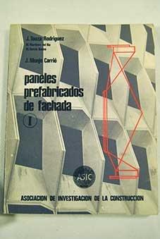 9788421902912: PANELES PREFABRICADOS DE FACHADA. I.