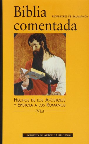 Biblia comentada. vib. epist. paul. n243b: Profesores Universidad Pontificia