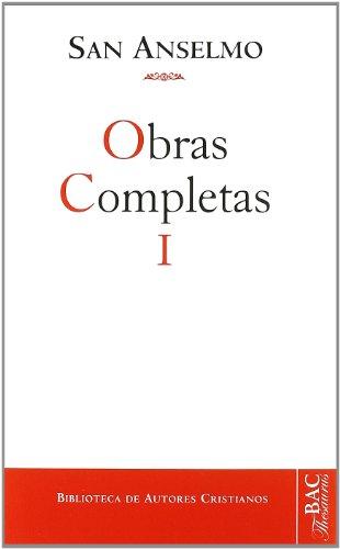 9788422001751: Obras completas de San Anselmo. I: 1 (NORMAL)