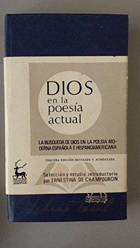 9788422002819: Dios en la poesia actual