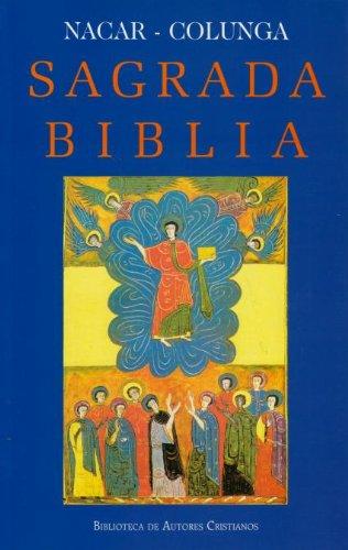 9788422003403: Sagrada Biblia (maior-rústica) (EDICIONES BÍBLICAS)