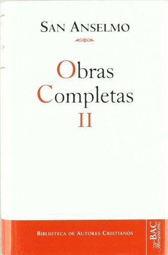 9788422005599: Obras completas de San Anselmo. II