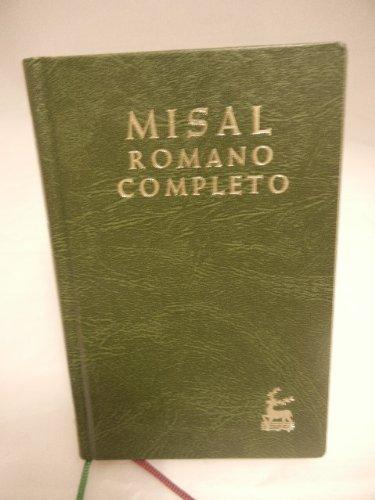 9788422006541: Misal romano completo.; tomo 1