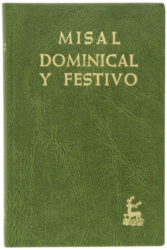 9788422008613: Misal dominical y festivo