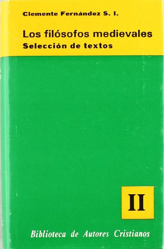 9788422009726: Los filósofos medievales. II: Escoto Eriugena - Nicolás de Cusa