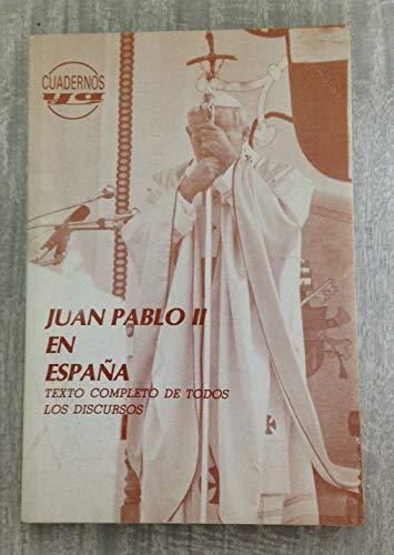 9788422010807: Juan Pablo II en España : discursos