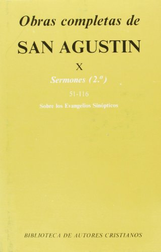 Obras completas de San Agustín. X: Sermones: San Agustín