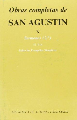 9788422011071: Obras completas de San Agustín. X: Sermones (2.º): 51-116: Sobre los Evangelios sinópticos