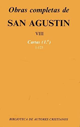 Obras completas de San Agustín. VIII: Cartas (1.º): 1-123 - San Agustín
