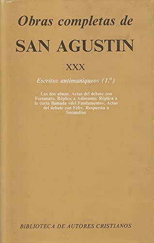 Obras completas de San Agustín. XXX: Escritos: San Agustín