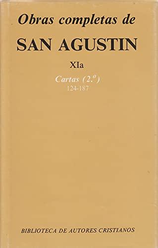 9788422013051: Obras completas de San Agustín. XIa: Cartas (2.º): 124-187