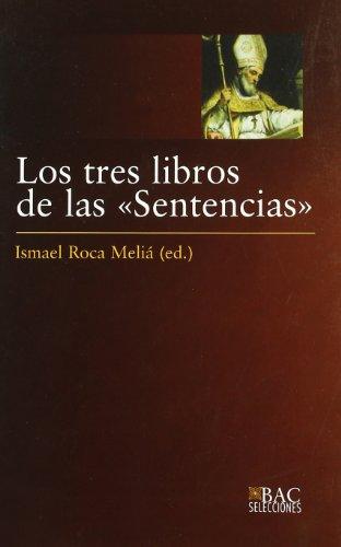 9788422014140: Los tres libros de las