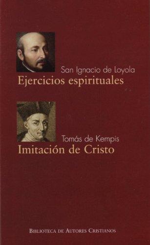 9788422015383: Ejercicios espirituales. Imitacion De CR (FUERA DE COLECCIÓN)