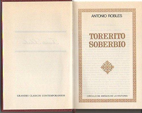 Torerito soberbio: ROBLES, ANTONIO