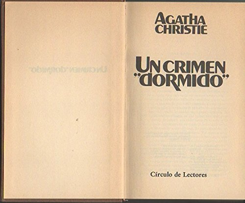 9788422611097: Un Crimen