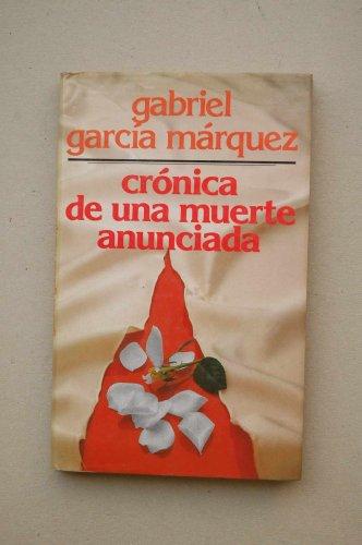 9788422614166: Crónica de una muerte anunciada / Gabriel García Máquez