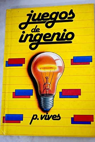 JUEGOS DE INGENIO.: VIVES, P.