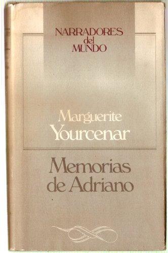 9788422618966: Memorias de adriano