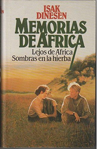 9788422621386: Memorias de África