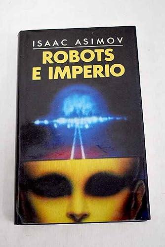 9788422622505: ROBOTS E IMPERIO