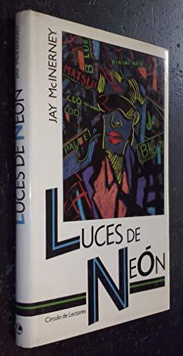 9788422625544: LUCES DE NEÓN.