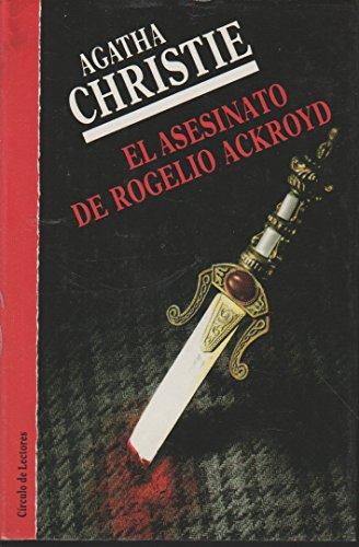 9788422630197: ASESINATO DE ROGELIO ACKROYD