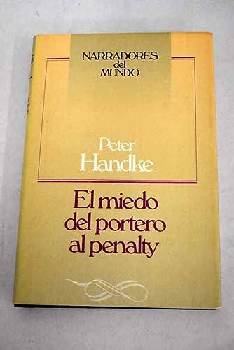 9788422630821: El miedo del portero al penalty