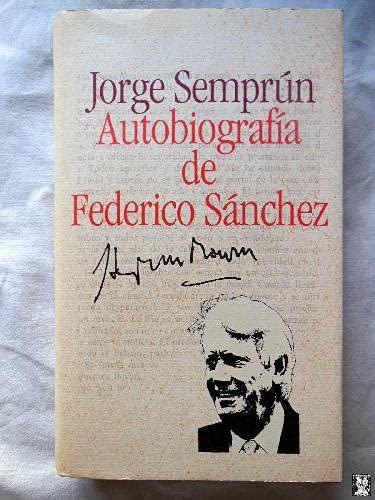 9788422631200: Autobiografía De Federico Sánchez