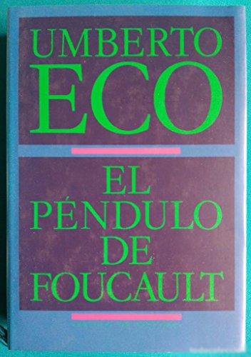9788422632092: El pendulo De Foucault