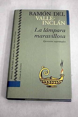 9788422632771: La lámpara maravillosa. Ejercicios espirituales
