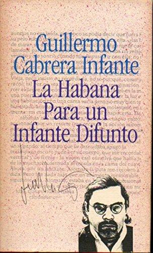 9788422639749: La Habana Para Un Infante Difunto