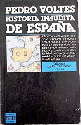 9788422640455: Historia inaudita de espana