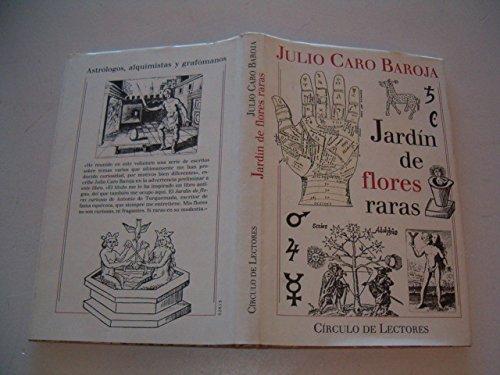9788422642589: JARDÍN DE FLORES RARAS