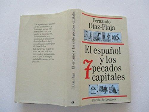 9788422643142: El Español Y Los Siete Pecados Capitales