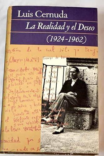 9788422643265: LA REALIDAD Y EL DESEO (1924-1962)