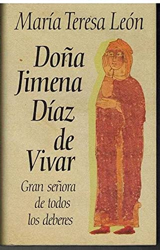 9788422644170: Doña jimena Díaz de vivar