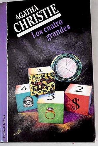 Los Cuatro grandes,: Christie, Agatha