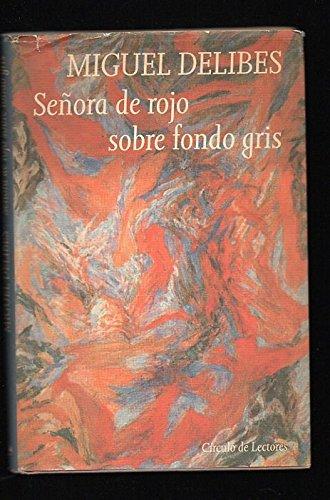 9788422646099: Señora de Rojo sobre fondo gris