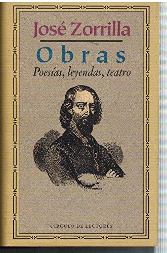 9788422646907: Obras : poesias, leyendas, teatro