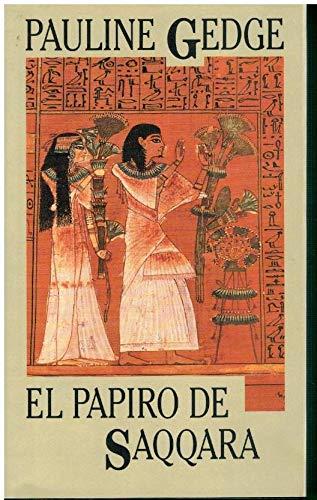 9788422647423: El papiro de Saqqara