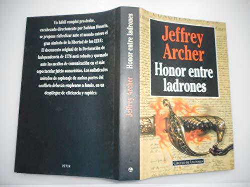 9788422651345: Honor Entre Ladrones