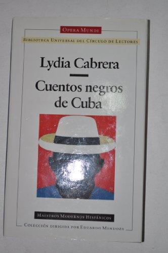 9788422654995: Cuentos negros de Cuba