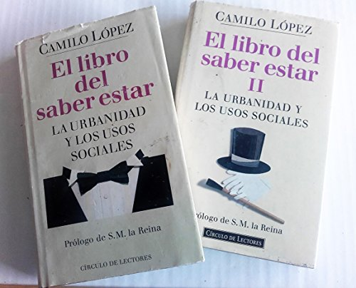 9788422655466: EL LIBRO DEL SABER ESTAR - LA URBANIDAD Y LOS USOS SOCIALES - 2 TOMOS