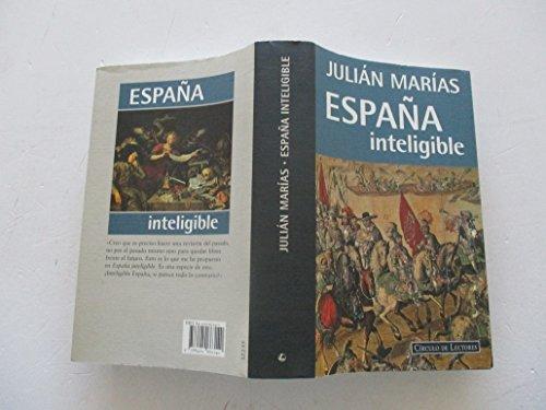 9788422663140: España inteligible: razon historica de las españas