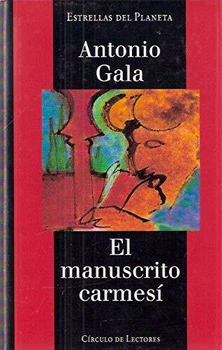 9788422665243: El manuscrito carmesí.
