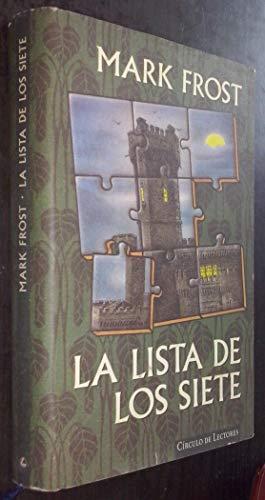 9788422666899: LA LISTA DE LOS SIETE