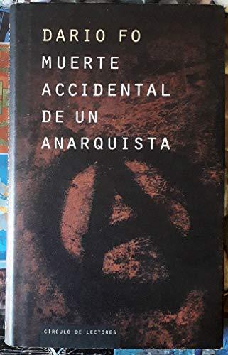 9788422669272: Muerte accidental de un anarquista